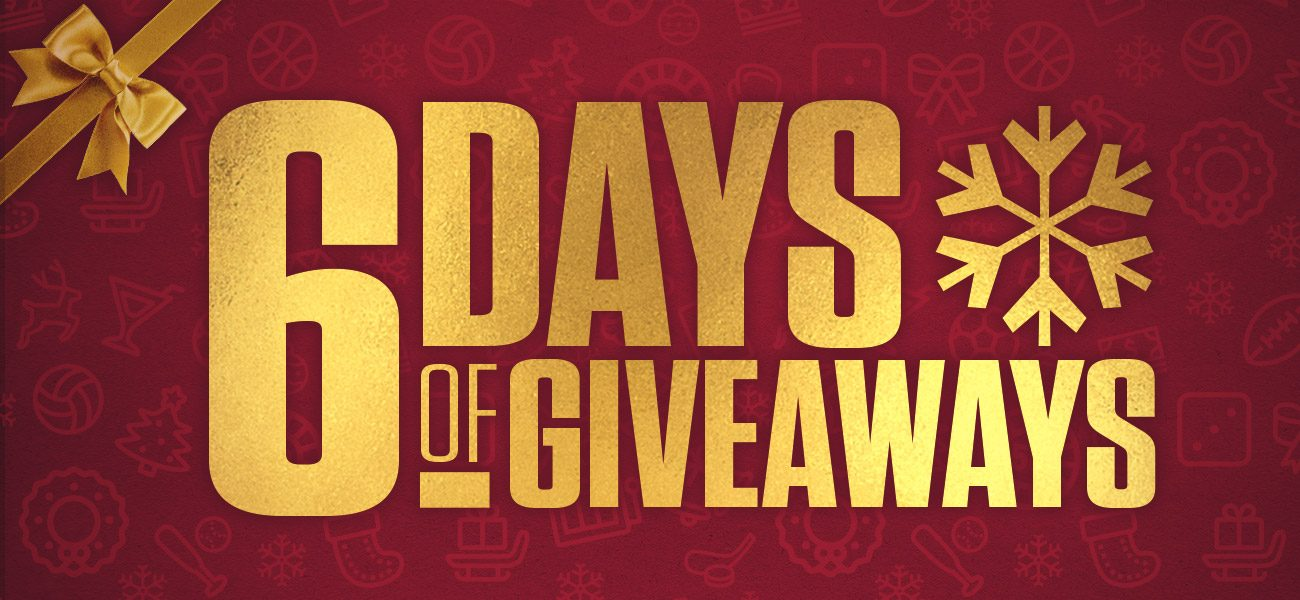 6 Days of Giveaways